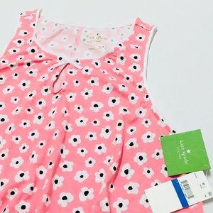 ♠️ Kate Spade flower jersey chemise sleep shirt XL